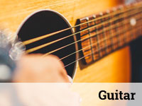 Voice & Instrument Lessons at Rata Studios, Wellington: Guitar