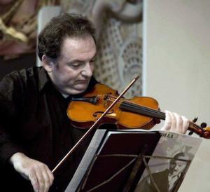 Violin lessons with Slava Fainitski at Rata Studios, Wellington